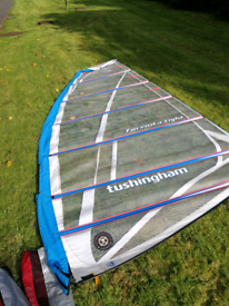 Tushingham formula light 9.4m windsurfing sail