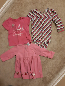 Girls 12-18 month clothing lot.