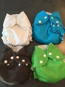 AMP all-in-one cloth diapers size small