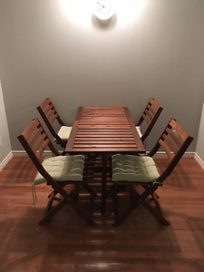 ***REDUCED PRICE*** IKEA ÄPPLARÖ Patio Set