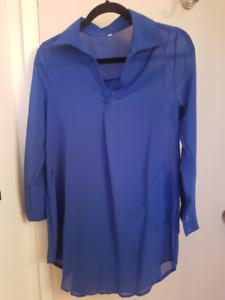 Royal Blue (never worn) Blouse