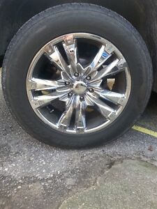 "20"" Rims with Toyo Tires - 275/55R20 - includes 6 rims!"
