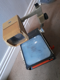 Overhead projector 3M - teaching aid vintage fully working with apple
