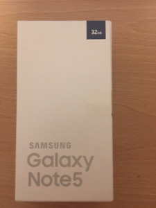 New sealed Samsung Galaxy Note 5 In Box