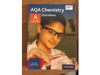 Official Oxford Chemistry Book for A Level 2 Year