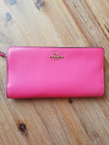 AUTHENTIC COACH WALLET, PINK - BEST OFFER
