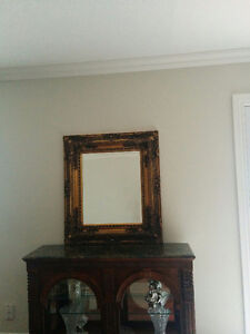 Set of Antique gold  Mirrors.