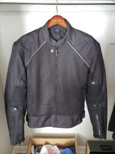 Mesh motorcycle riding jacket in new condition !!