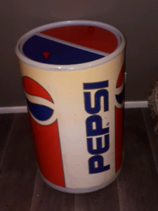 Pepsi display cooler