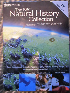 The BBC Natural History Collection Feat. Planet Earth 17 Disc.