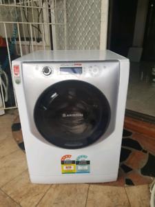 ARISTON Auto Dose 8.5kg front loader washer.