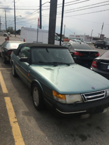 1991 Saab 900 Convertible super rare