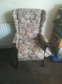 Armchair. Can deliver local Leicester
