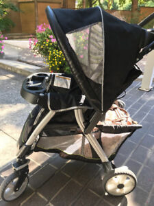 Graco click connect stroller- barely used
