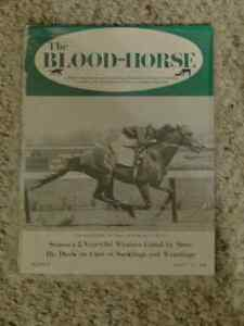 Blood Horse Magazines - triple crown issues etc Strathcona County Edmonton Area image 5