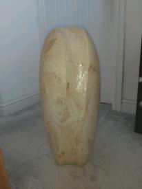 Large ivory vase