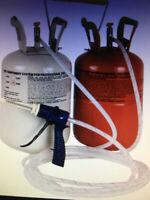 Stirofom liquide qui durcie et gonfle en sortant et Pompe à eau