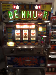 SLOT MACHINE-BENHUR