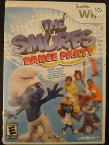 Brand new Sealed Wii game Smurfs Dance Party