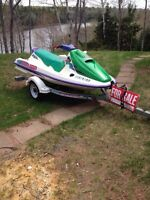 1994 Sea Doo GTX with Trailer
