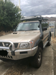 Nissan patrol trade for a ute