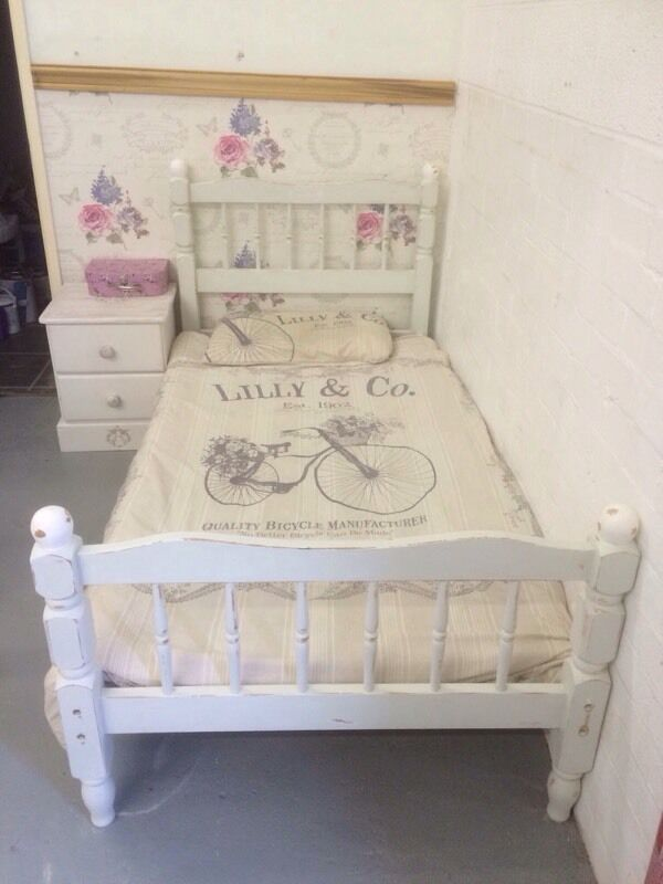 Shabby Chic Single Bed Frame In Stroud Gloucestershire Gumtree