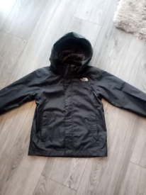 Boys XS (5-6) Black North Face Jacket Great condition