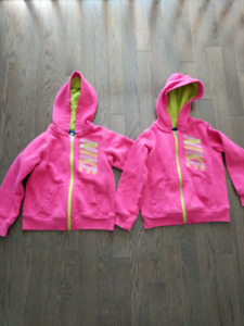 Girls Nike hoodies- size 6- $10 each or both for $15