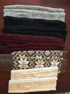 5 Pairs of Leg Warmers (one size fits all )