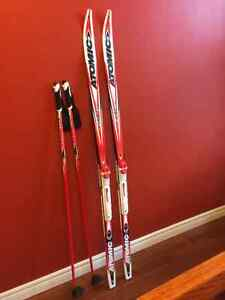Youth Cross-Country Skiis, Boots & Poles - MINT CONDITION!! St. John's Newfoundland image 3