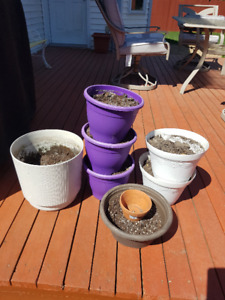 FS: Outdoor Planter Pots