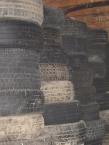 USED WINTER TIRES / ALL SEASON TIRES