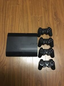 Playstation 3 500 gb with games