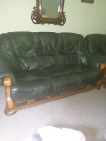 3 Seater Sofa and 2 matching chairs