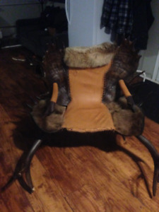 Awesome One of a kind Antler Chair