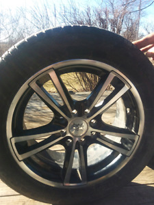 Universal 4 bolt rims and tires