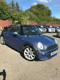 2005 Mini 1.6 One Convertible +64k+good looking+stunning colour