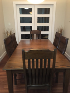 Wheaton's Dining Table and 6 Chairs