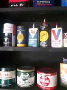 VINTAGE PETRO OIL CAN COLLECTION Windsor Region Ontario image 1