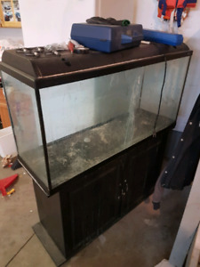 80 gallon fish tank and stand