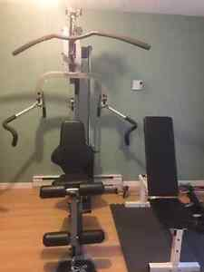 Multi Gym, Treadmill, Bench and Weights