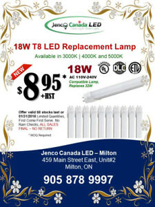 LED T8 Lamps !! DEAL !! DEAL !! DEAL !! - Large Qty's Available.