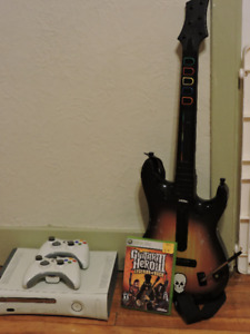 Accessoires Xbox 360 (Kinect, guitare)