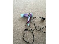 Children's Disney hairdryer - only used once