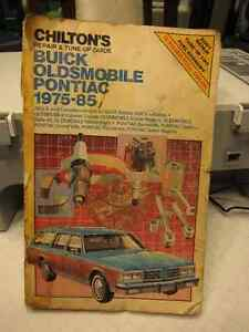 Service Manual for Buick,Oldsmoble,Pontiac 75-85