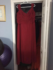 Beautiful Burgundy Dress St. John's Newfoundland image 2