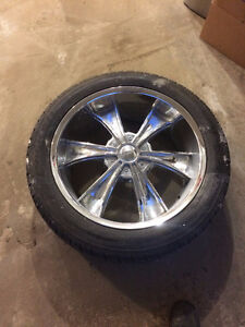 "22"" Tire and Rim package"