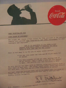 FOR SERIOUS COCA COLA COLLECTOR Kitchener / Waterloo Kitchener Area image 2