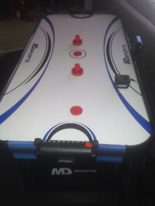 Fun Air Hockey Table that the kids will love, and not too big!