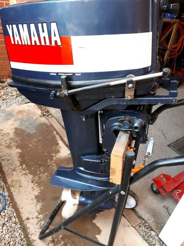 Yamaha 25hp 2 stroke outboard engine | in Ledbury, Herefordshire | Gumtree